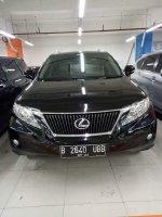 RX Series: Lexus rx270 2012 hitam keren