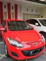 Jual Mazda 2 Merah M/T S Juni 2011 BANDUNG