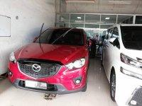 Jual CX-5: Mazda CX5 GT,tahun 2013,tangan pertama,warna merah.matic