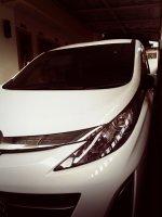 Jual Mazda biante 2012 pajak panjang warna putih rawatan pemakai