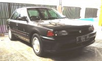 323: Dijual Mazda 232 Interplay, Kondisi Bugus, Tangan Pertama. (DEPAN KIRI.jpg)