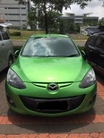Jual Mazda 2 S 2011 matic warna hijau tangan pertama