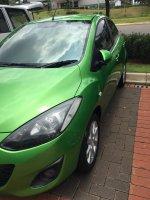 Mazda 2 S 2011 matic warna hijau tangan pertama (1497694448811.jpg)