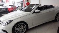 Jual Mercedes-Benz E Class: mercy E200 Cabriolet sangat istimewa