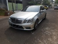 Mercedes-Benz E Class: Mercy E63 AMG V8  5.5L 2012 Silver On Black Supercharged