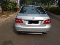 Mercedes-Benz E Class: Mercy E63 AMG V8  5.5L 2012 Silver On Black Supercharged (IMG-20180912-WA0111.jpg)
