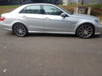 Mercedes-Benz E Class: Mercy E63 AMG V8  5.5L 2012 Silver On Black Supercharged (IMG-20180912-WA0113.jpg)