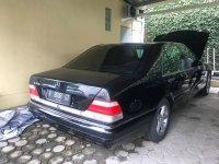 Jual Mercedes-Benz S Class: mercedes S320,hitam,terawat,bandung