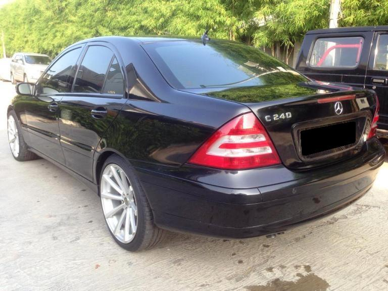 c class mercy c240 facelift th 2005 w203 type sport. Black Bedroom Furniture Sets. Home Design Ideas