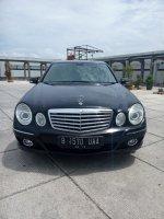 Jual Mercedes-Benz E Class: Mercedes benz E 230 7G tronic thn 2008 hitam