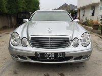 "Mercedes-Benz E Class: Mercedes Benz E200 Kompressor Mercy W211 thn 2005 ""Full Orisinil"" (Depan.jpg)"