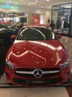 Mercedes-Benz A Class: Mercedes Benz A 200 Progressive Line, TDP 120 jutaan, BAWA PULANG UNIT (IMG_8341.JPG)