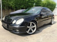 Mercedes-Benz E Class: Mercedes Benz E320 Avantgarde AMG Mercy W211 Panoramic KM 36rb AirSus (Depan Kiri.jpg)