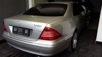 Mercedes-Benz S Class: Dijual Mercy S500 tahun 2001