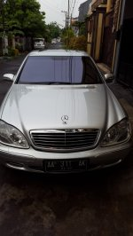 Mercedes-Benz S Class: Dijual Mercy S500 tahun 2001 (UNLU1094.JPG)