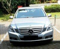 Mercedes-Benz E Class: Jual, BU, Mercedes Benz E200 (tampak depan.jpg)