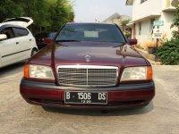 "Mercedes-Benz C Class: Mercedes Benz C200 Mercy W202 th 1995 ""ANTIK SEKALI"" KM 69rb (Depan.jpg)"