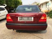 """Mercedes-Benz C Class: Mercedes Benz C200 Mercy W202 th 1995 """"ANTIK SEKALI"""" KM 69rb (Belakang.jpg)"""