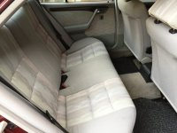 """Mercedes-Benz C Class: Mercedes Benz C200 Mercy W202 th 1995 """"ANTIK SEKALI"""" KM 69rb (Interior Belakang.jpg)"""