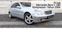 Mercedes-Benz C180: Jual Cepat Mobil Mercedes Benz C 180