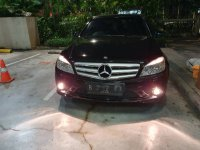 Jual Mercedes-Benz C Class: Mercedes benz c 250 cgi amg Black On Black Mulus