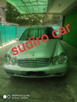 Mercedes-Benz C Class: JUAL Mercedez Benz C240 Elegance Sunroof Automatic Mercy tahun 2002