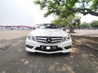 Jual Mercedes-Benz E Class: MERCY E250 CABRIOLET AT PUTIH 2011