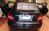 Mercedes-Benz C Class: Mercedes Benz C200 CGI 2012 Facelift (MercC-200-Blkg.jpg)