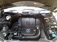 Mercedes-Benz C Class: Mercedes Benz C200 CGI 2012 Facelift (MercC-200-Bonnet-0.jpg)