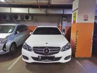 Mercedes-Benz E Class: Dijual Mercedes E250 Avantgarde 2014/2015 White, Mulus, Tangan Pertama