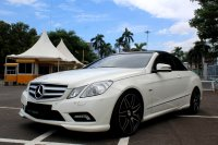 Mercedes-Benz E Class: MERCY E250 CABRIOLET AT PUTIH 2011 (IMG_5153.JPG)