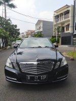 Jual Mercedes-Benz E200: Mercedes benz e250 2010 hitam sangat bagus