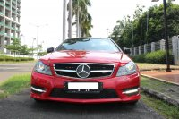 Jual Mercedes-Benz C Class: MERCY C250 COUPE AMG A/T MERAH 2012