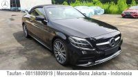 Jual Promo Terbaru Dp20% Mercedes-Benz C200 Cabriolet 2019 Dealer Resmi