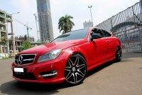 Jual Mercedes-Benz C Class: MERCY C250 AMG COUPE MERAH 2012 PAKAI 2013