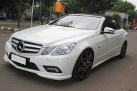 Jual Mercedes-Benz E Class: MERCY E250 CABRIOLET AT PUTIH 2011- FLASH SALE
