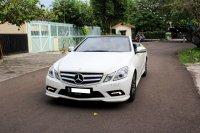 Jual Mercedes-Benz E Class: Flash sale mercy e250 cabriolet 2011 hanya 665jt termurah