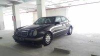 Jual Mercedes-Benz E Class: Mercedes benz e230 w210 hitam a/t