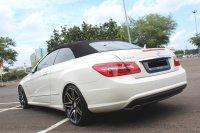 Mercedes-Benz E Class: FLASH SALE MURAH MERCY E250 CABRIOLET AT 2011 PUTIH (IMG_5145.JPG)