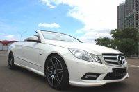 Mercedes-Benz E Class: FLASH SALE MURAH MERCY E250 CABRIOLET AT 2011 PUTIH (IMG_5212.JPG)