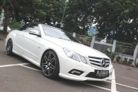 Mercedes-Benz E Class: FLASH SALE MURAH MERCY E250 CABRIOLET AT 2011 PUTIH (IMG_5151.JPG)