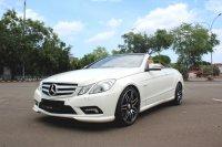 Mercedes-Benz E Class: FLASH SALE MURAH MERCY E250 CABRIOLET AT 2011 PUTIH (IMG_5215.JPG)