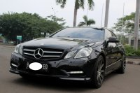 Jual Mercedes-Benz E Class: MERCEDES BENZ E250 COUPE 2013 HITAM SUPER ANTIKK SIAP PAKAI
