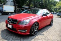 Jual Mercedes-Benz C Class: MERCY C250 COUPE AT 2012 MERAH