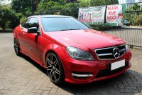 Mercedes-Benz C Class: MERCY C250 COUPE AT 2012 MERAH (IMG_1125.JPG)