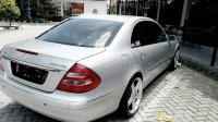Jual Mercedes-Benz: Mercedes Bens E Class E 260 Matic Silver Tahun 2006 Mulus Low Km