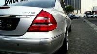 Mercedes-Benz: Mercedes Bens E Class E 260 Matic Silver Tahun 2006 Mulus Low Km (mercy4.jpg)