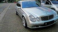 Mercedes-Benz: Mercedes Bens E Class E 260 Matic Silver Tahun 2006 Mulus Low Km (mercy.jpg)
