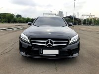 Jual Mercedes-Benz C Class: MERCY C200 ECOBOOST AVANGARDE AT HITAM 2019
