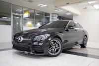 Mercedes-Benz C Class: 2019 Mercedes Benz C300 AMG Line AT LIKE NEW, FREE GARANSI tdp 224jt (ACXZ5238.JPG)